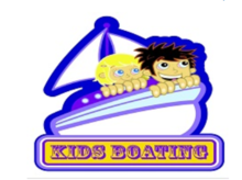 kids boating icon